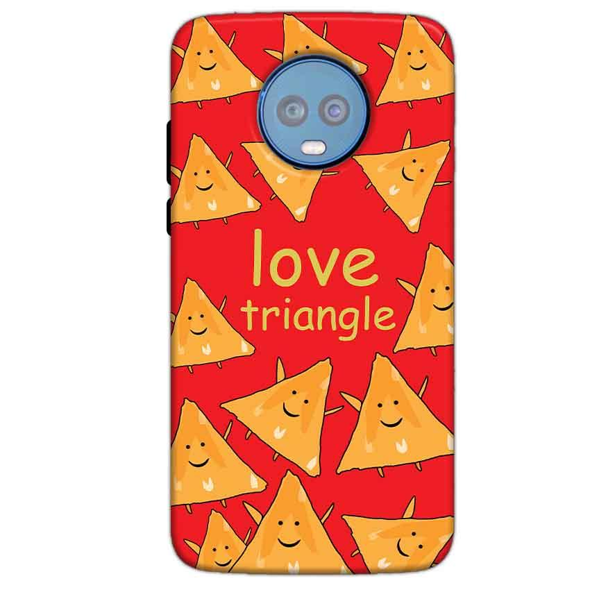 Motorola Moto G6 Plus Mobile Covers Cases Love Triangle - Lowest Price - Paybydaddy.com