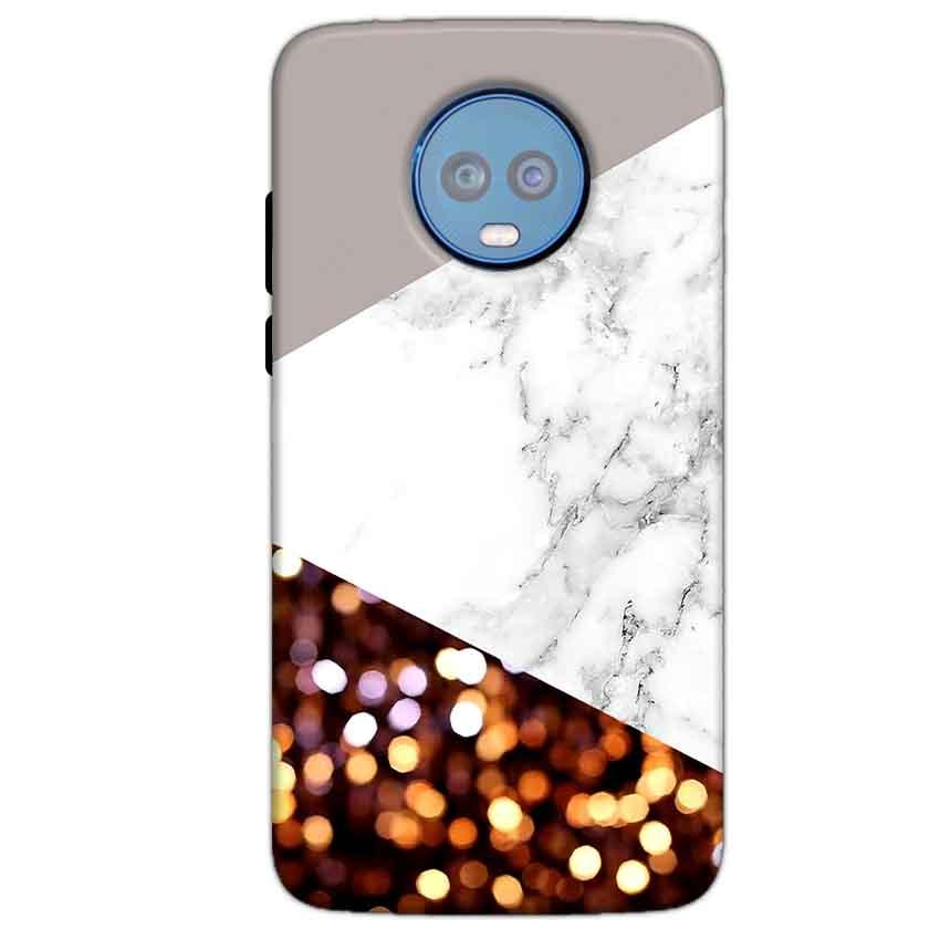 Motorola Moto G6 Plus Mobile Covers Cases MARBEL GLITTER - Lowest Price - Paybydaddy.com