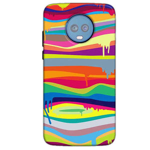 Motorola Moto G6 Plus Mobile Covers Cases Melted colours - Lowest Price - Paybydaddy.com