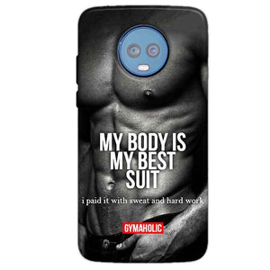 Motorola Moto G6 Plus Mobile Covers Cases My Body is my best suit - Lowest Price - Paybydaddy.com