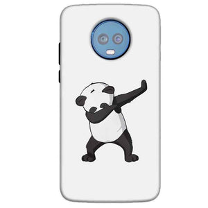 Motorola Moto G6 Plus Mobile Covers Cases Panda Dab - Lowest Price - Paybydaddy.com