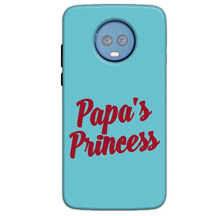 Motorola Moto G6 Plus Mobile Covers Cases Papas Princess - Lowest Price - Paybydaddy.com