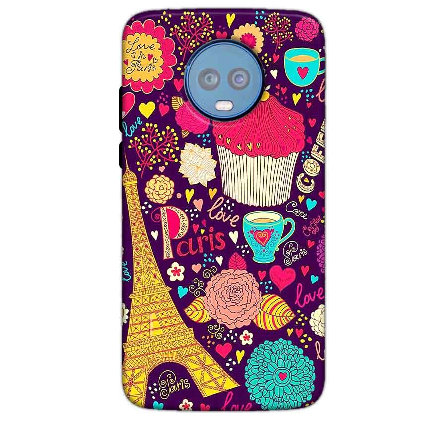 Motorola Moto G6 Plus Mobile Covers Cases Paris Sweet love - Lowest Price - Paybydaddy.com