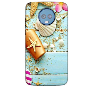 Motorola Moto G6 Plus Mobile Covers Cases Pearl Star Fish - Lowest Price - Paybydaddy.com