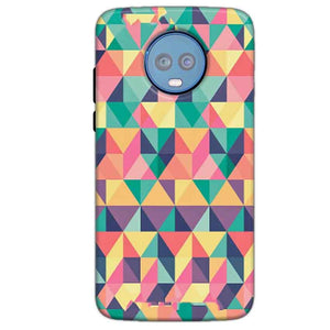 Motorola Moto G6 Plus Mobile Covers Cases Prisma coloured design - Lowest Price - Paybydaddy.com