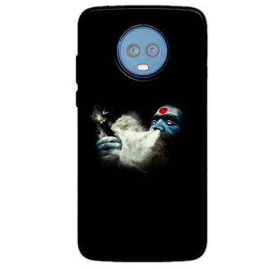 Motorola Moto G6 Plus Mobile Covers Cases Shiva Aghori Smoking - Lowest Price - Paybydaddy.com
