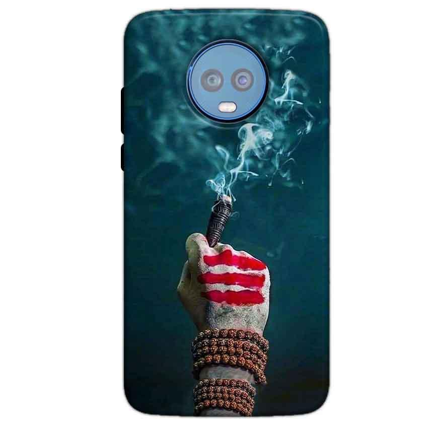 Motorola Moto G6 Plus Mobile Covers Cases Shiva Hand With Clilam - Lowest Price - Paybydaddy.com
