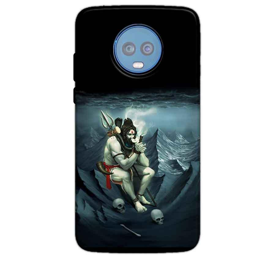 Motorola Moto G6 Plus Mobile Covers Cases Shiva Smoking - Lowest Price - Paybydaddy.com