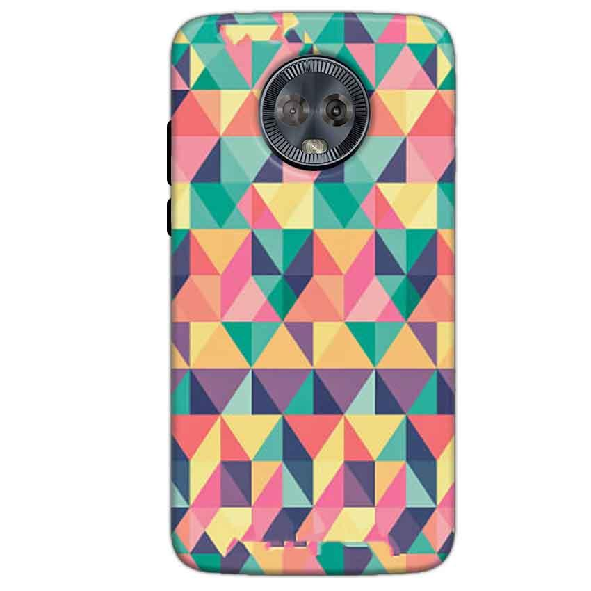 Motorola Moto G6 Mobile Covers Cases Prisma coloured design - Lowest Price - Paybydaddy.com