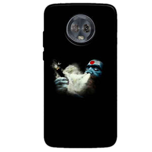 Motorola Moto G6 Mobile Covers Cases Shiva Aghori Smoking - Lowest Price - Paybydaddy.com
