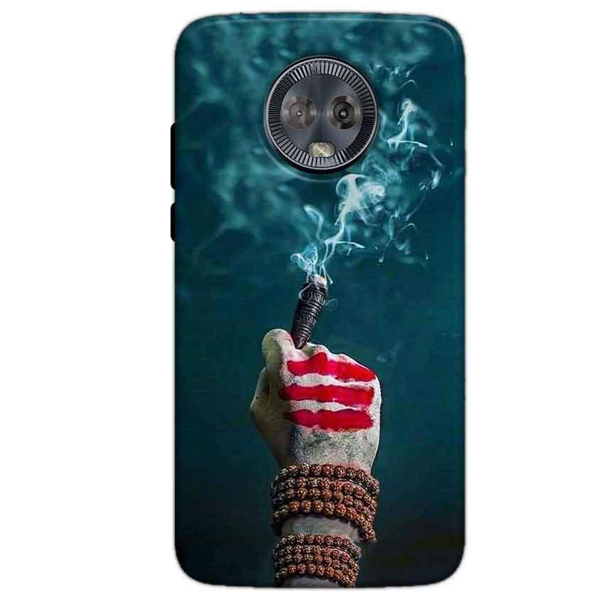 Motorola Moto G6 Mobile Covers Cases Shiva Hand With Clilam - Lowest Price - Paybydaddy.com