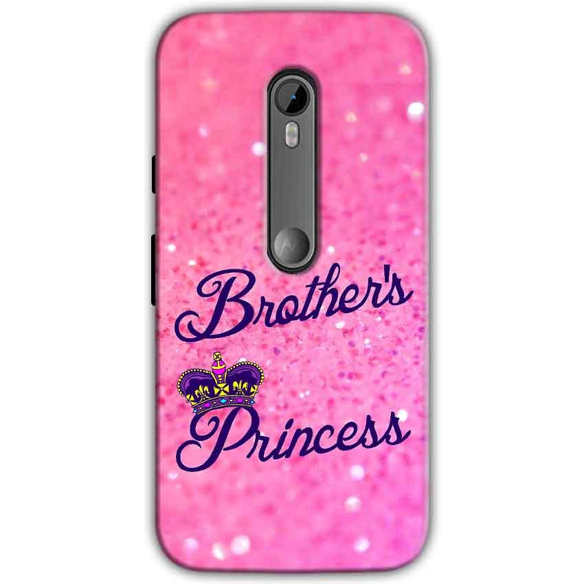 Motorola Moto G 3rd gen Mobile Covers Cases Brothers princess - Lowest Price - Paybydaddy.com