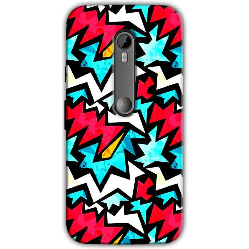 Motorola Moto G 3rd gen Mobile Covers Cases Colored Design Pattern - Lowest Price - Paybydaddy.com