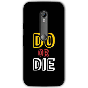 Motorola Moto G 3rd gen Mobile Covers Cases DO OR DIE - Lowest Price - Paybydaddy.com