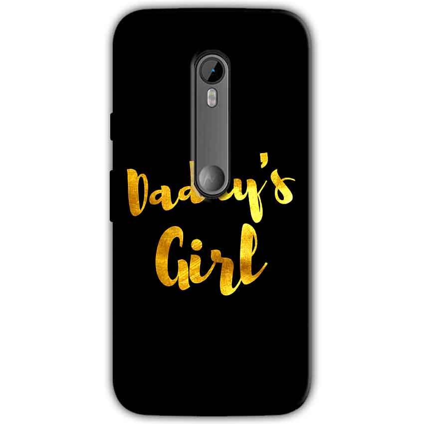 Motorola Moto G 3rd gen Mobile Covers Cases Daddys girl - Lowest Price - Paybydaddy.com
