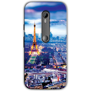 Motorola Moto G 3rd gen Mobile Covers Cases Eiffel Tower Light View - Lowest Price - Paybydaddy.com