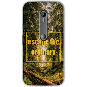 Motorola Moto G 3rd gen Mobile Covers Cases Escape the nature - Lowest Price - Paybydaddy.com