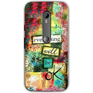Motorola Moto G 3rd gen Mobile Covers Cases Everything Will BE OK - Lowest Price - Paybydaddy.com