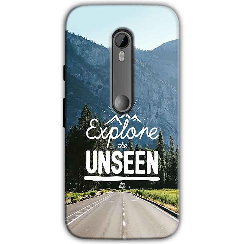 Motorola Moto G 3rd gen Mobile Covers Cases Explore UNSEEN - Lowest Price - Paybydaddy.com
