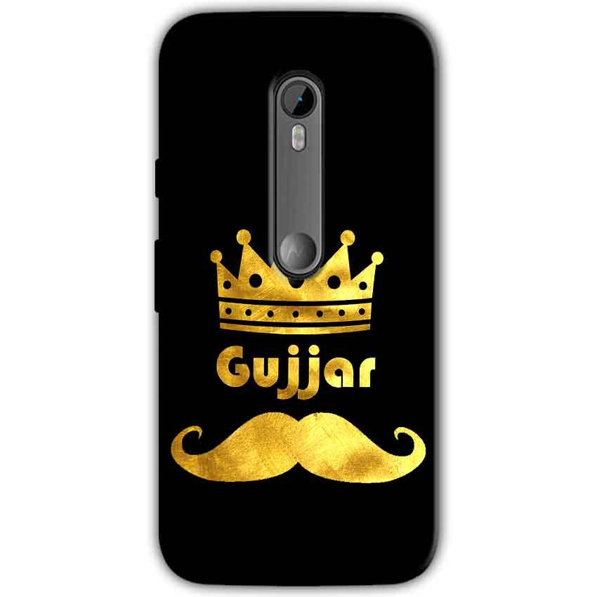 Motorola Moto G 3rd gen Mobile Covers Cases Gujjar with Mostaches - Lowest Price - Paybydaddy.com