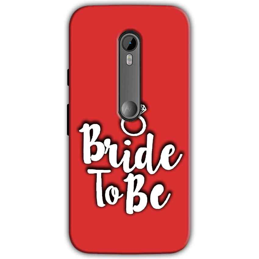 Motorola Moto G 3rd gen Mobile Covers Cases bride to be with ring - Lowest Price - Paybydaddy.com