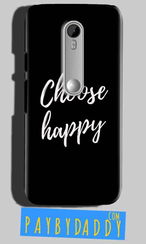 Motorola Moto G 3rd gen Mobile Covers Cases Choose happy - Lowest Price - Paybydaddy.com