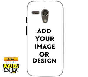 Customized Motorola Moto G 4G Mobile Phone Covers & Back Covers with your Text & Photo