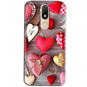 Motorola Moto M Mobile Covers Cases Hearts- Lowest Price - Paybydaddy.com