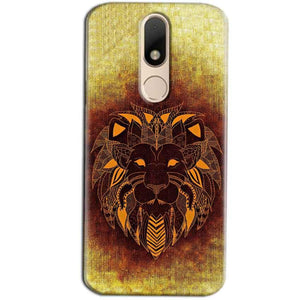 Motorola Moto M Mobile Covers Cases Lion face art - Lowest Price - Paybydaddy.com