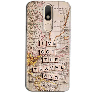 Motorola Moto M Mobile Covers Cases Live Travel Bug - Lowest Price - Paybydaddy.com