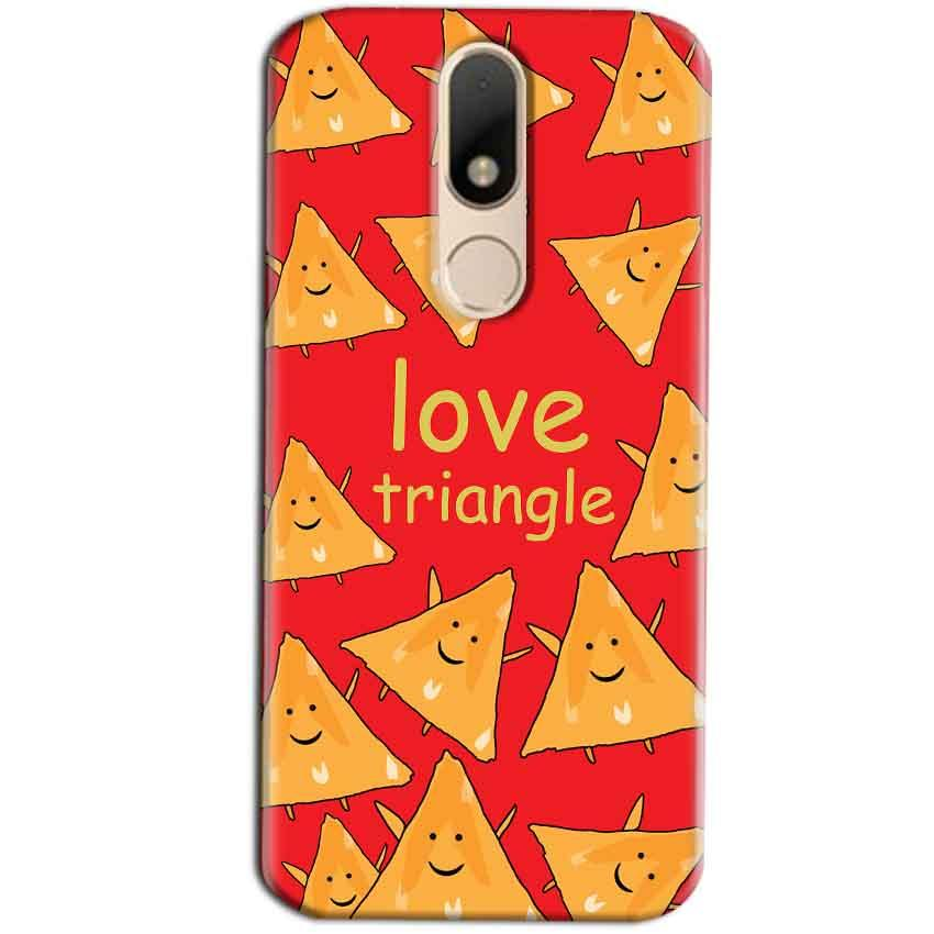 Motorola Moto M Mobile Covers Cases Love Triangle - Lowest Price - Paybydaddy.com