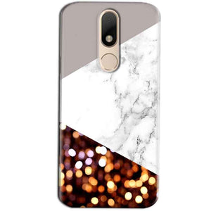 Motorola Moto M Mobile Covers Cases MARBEL GLITTER - Lowest Price - Paybydaddy.com