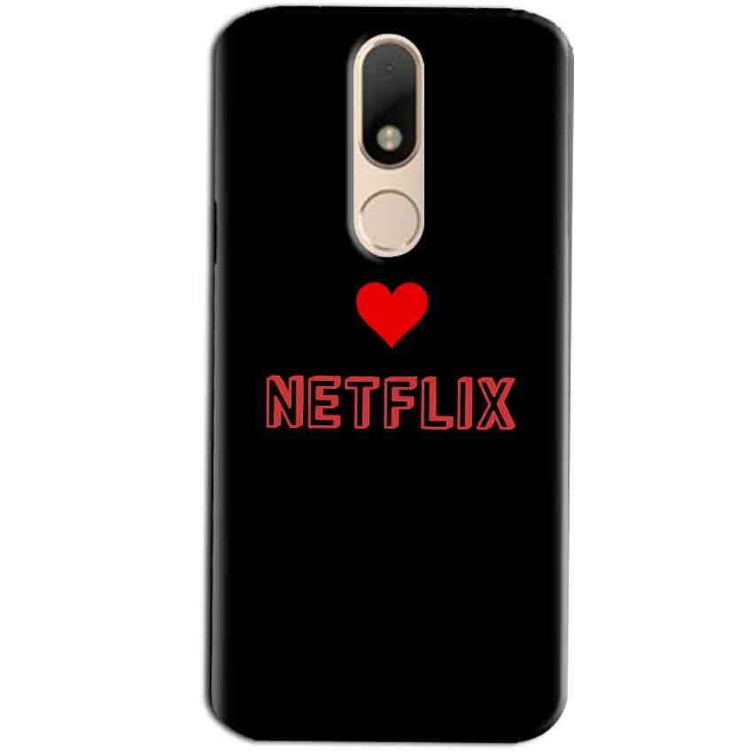 Motorola Moto M Mobile Covers Cases NETFLIX WITH HEART - Lowest Price - Paybydaddy.com