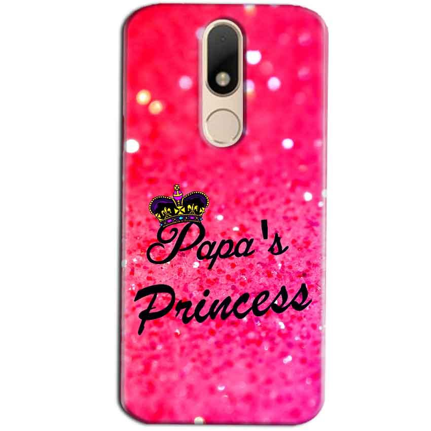Motorola Moto M Mobile Covers Cases PAPA PRINCESS - Lowest Price - Paybydaddy.com
