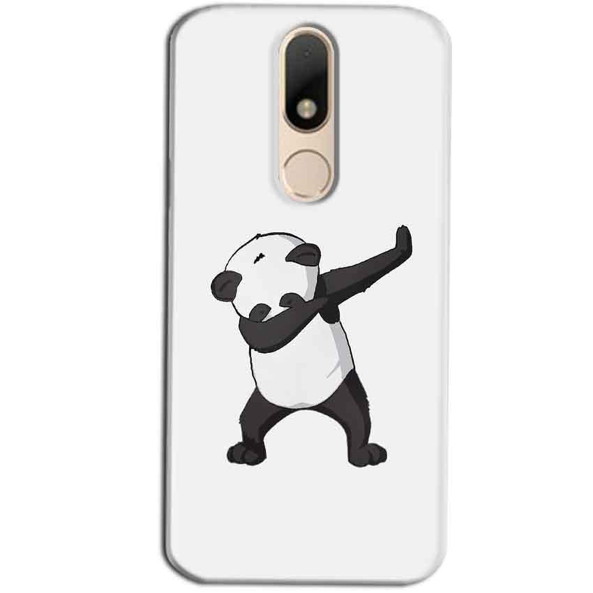 Motorola Moto M Mobile Covers Cases Panda Dab - Lowest Price - Paybydaddy.com