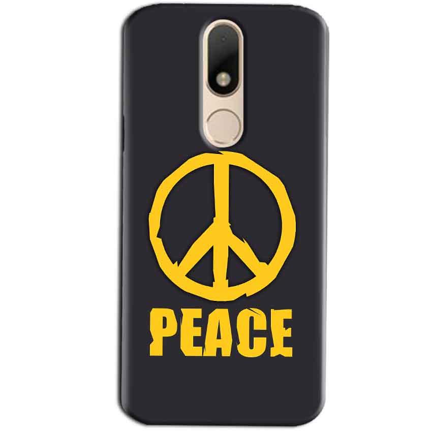 Motorola Moto M Mobile Covers Cases Peace Blue Yellow - Lowest Price - Paybydaddy.com