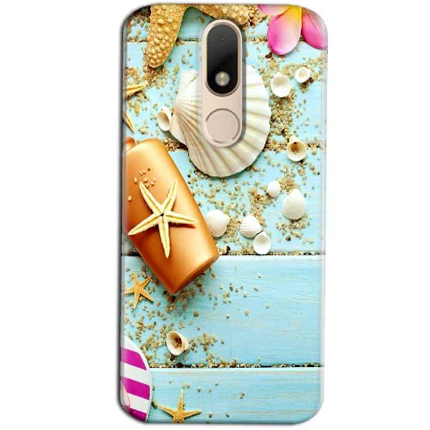 Motorola Moto M Mobile Covers Cases Pearl Star Fish - Lowest Price - Paybydaddy.com