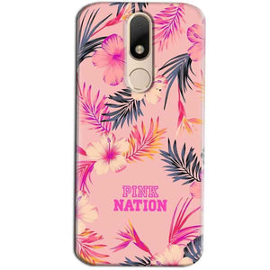 Motorola Moto M Mobile Covers Cases Pink nation - Lowest Price - Paybydaddy.com