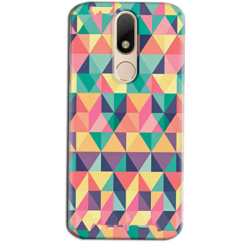 Motorola Moto M Mobile Covers Cases Prisma coloured design - Lowest Price - Paybydaddy.com