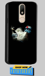 Motorola Moto M Mobile Covers Cases Shiva Aghori Smoking - Lowest Price - Paybydaddy.com