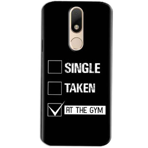 Motorola Moto M Mobile Covers Cases Single Taken At The Gym - Lowest Price - Paybydaddy.com