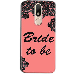 Motorola Moto M Mobile Covers Cases Mobile Covers Cases bride to be with ring Black Pink - Lowest Price - Paybydaddy.com