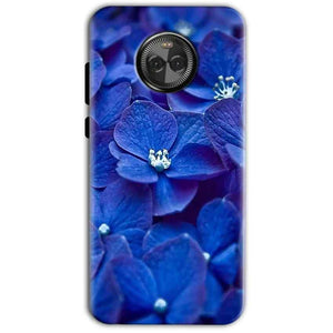 Motorola Moto X4 Mobile Covers Cases Blue flower - Lowest Price - Paybydaddy.com