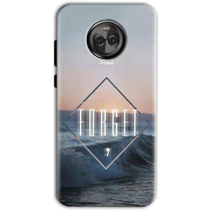 Motorola Moto X4 Mobile Covers Cases Forget Quote Something Different - Lowest Price - Paybydaddy.com