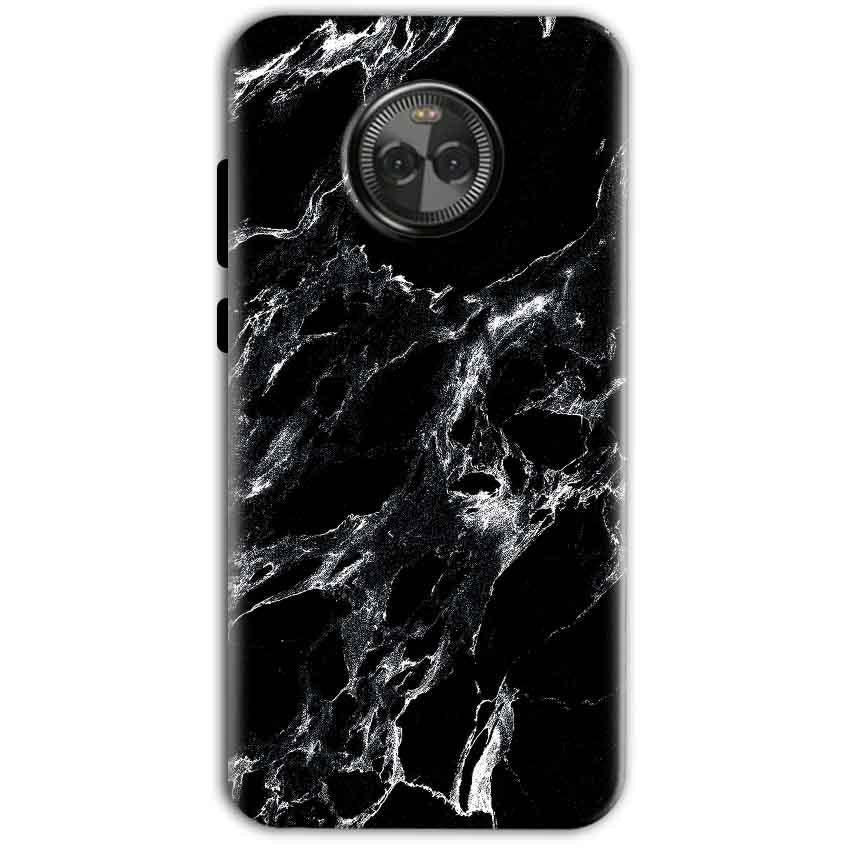 Motorola Moto X4 Mobile Covers Cases Pure Black Marble Texture - Lowest Price - Paybydaddy.com