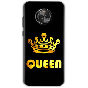 Motorola Moto X4 Mobile Covers Cases Queen With Crown in gold - Lowest Price - Paybydaddy.com