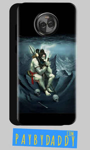 Motorola Moto X4 Mobile Covers Cases Shiva Smoking - Lowest Price - Paybydaddy.com