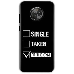 Motorola Moto X4 Mobile Covers Cases Single Taken At The Gym - Lowest Price - Paybydaddy.com