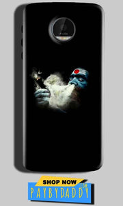 Motorola Moto Z Play Mobile Covers Cases Shiva Aghori Smoking - Lowest Price - Paybydaddy.com