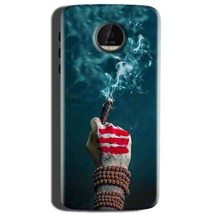 Motorola Moto Z Play Mobile Covers Cases Shiva Hand With Clilam - Lowest Price - Paybydaddy.com